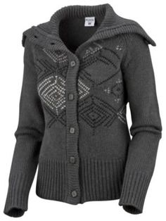 Warm Winter Sweater......not sure on the pattern but I like the style and the grey
