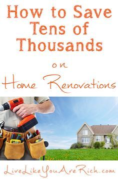 An entire home remodel that was done for tens of thousands less than the average. Pin this for tons of tips and tricks on how to save with kitchen, bathroom, living room, nursery, remodels, installations, decorating, updating, etc. #LiveLikeYouAreRich