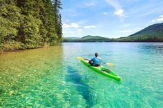 This secret lake in BC looks like a Caribbean paradise with its crystal clear, turquoise waters and stretch of glistening, white sand beach. Johnson Lake Bc, Places To Travel, Places To See, Travel Destinations, Travel Local, Clearwater Lake, Canadian Travel, White Sand Beach, Vancouver Island