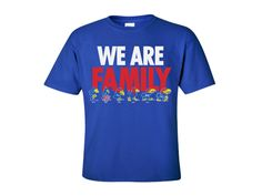 Kansas Jayhawks We Are Family Evolution Youth Tee - Royal