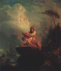 Finnish Mythology:   Väinämöinen was the god of chants, songs and poetry. In many stories Väinämöinen was the central figure at the birth of the world. He was floating at sea, while a bird came and laid eggs on his knee. The eggs were destroyed by a wave, but their pieces became the world; the upper cover became the sky dome, and the yolk became the sun. Some sources state that he was an ancient hero or a shaman of sorts from the 9th century.