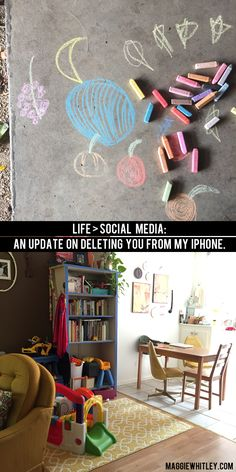 life > social media: an update on deleting you from my iphone   maggie whitley designs