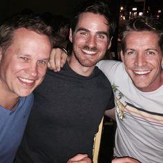 @iamseanmaguire • Friends reunited. @colinodonoghue1 @michaelcolemanofficial