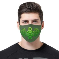 • One design on 3pcs. 100% polyester twill surface and 100% cotton lining. • Three-dimensional cut, high elastic ear loop, comfortable to wear. • Large enough for covering nose and mouth. • Advanced printing technology, presenting vivid images.  All our products are designed by our own design team and are custom-made-to-order and handcrafted to the highest quality standards. Irish Design, One Design, Irish Celtic, Celtic Knot, Sold Out Sign, Celtic Tree Of Life, Celtic Designs, Mouth Mask, Ear Loop