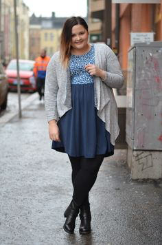 Fashion blogger PlusMimmi, wears the JUNAROSE cardigan with such style. Love the look! #junarose #junarosefriends #cardigan #fashion #plussize