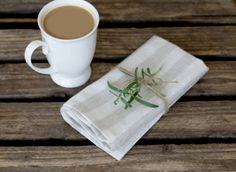 Striped Linen napkins 12 14 16 18 20 kitchen pure soft by RPlinen