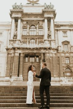 Vienna is for sure one of the most beautiful cities to elope too! Full of beautiful buildings and small streets. Most Beautiful Cities, Beautiful Buildings, How Beautiful, Beautiful People, First Contact, On Your Wedding Day, Vienna, Cute Couples, Wedding Venues