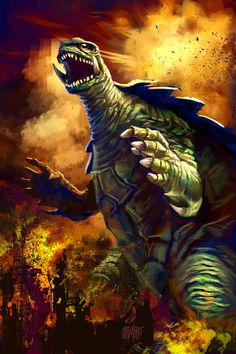 13 Nights 2012 Gamera by Grimbro.deviantart.com on @deviantART