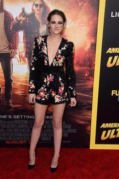 Kristen Stewart at American Ultra Premiere in LA | Photos | POPSUGAR Celebrity