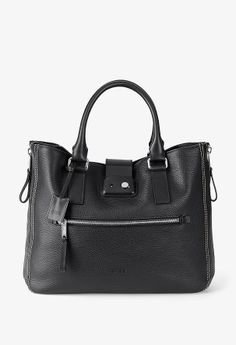 BREE   Baltimore 3 schwarz - Cowhide Leather smooth