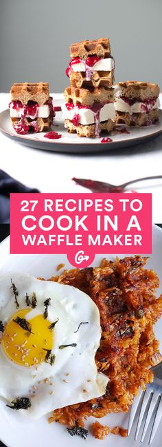 A waffle maker is no