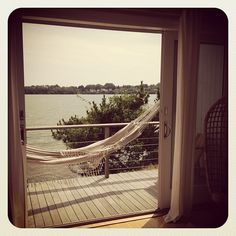 View from room 1 at the Surf Lodge #montauk