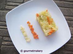Rohkost Rezept vegan: Sauerkrautsalat / raw recipe: sauerkraut salad