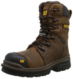 Caterpillar Men's Mortise 8 Inch WP CT Work Boot >>> Insider's special review you can't miss. Read more  : Boots for men