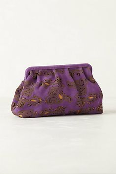 Velvetbloom Clutch #anthropologie