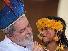 Por Dentro... em Rosa: Lula : um espírito iluminado que veio para nos ens...