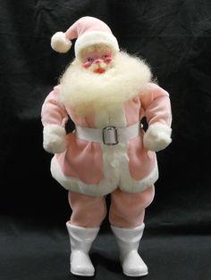 Vintage Pink santa Harold Gale