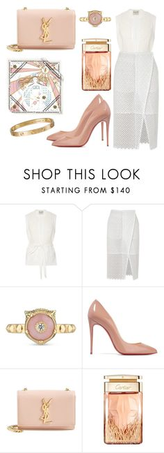 """Untitled #8949"" by tatyanaoliveiratatiana ❤ liked on Polyvore featuring STELLA McCARTNEY, Gucci, Christian Louboutin, Yves Saint Laurent, Cartier, men's fashion and menswear"