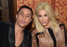 10 vezes em que Kim Kardashian foi musa da Balmain
