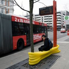 'Street Furniture' Reclaims Hamburg's Streets for the Public