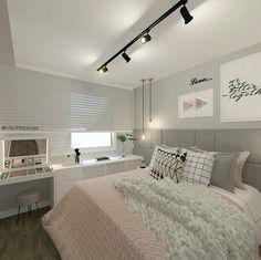 Home Decoration Living Room Code: 5130517290 Decoration Bedroom, Home Decor Bedroom, Teen Bedroom, Dream Rooms, Dream Bedroom, New Room, Girl Room, Room Inspiration, Interior Design