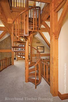 Missouri Spiral Stairs