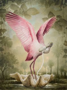Bird painting by Kevin Sloan