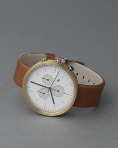 watches usually arent my thing, but i just fell in love! simplicity in a watch at its best.
