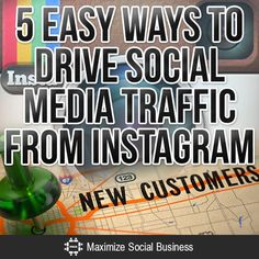 Need more customers and leads? These 5 tips will teach you how to get more website traffic from Instagram.