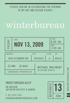 Winter Bureau