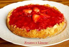 Questa torta fragole e ricotta è una golosissima cheesecake fatta con la frutta fresca. Buonissima e facile da preparare. Piace a tutti. Garantito.