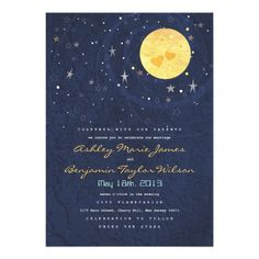 starry night party invitation - Google Search