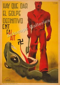 Spanish Civil War and Revolution poster gallery, Ww2 Posters, Political Posters, Protest Posters, Frente Popular, Revolution Poster, Spanish Posters, Propaganda Art, Communist Propaganda, Vintage Posters