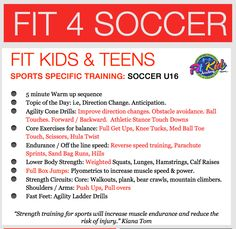 Soccer Workout for Teens by Kiana Tom, Host & Creator of Kiana's Flex Appeal & Fit Kids TV