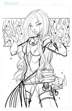 Commish 116 WIP 01 by RobDuenas.deviantart.com on @deviantART