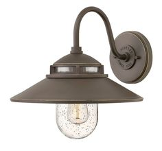 Hinkley Lighting 1110 1 Light Outdoor Wall Sconce From the Atwell Collection Oil Rubbed Bronze Outdoor Lighting Wall Sconces Outdoor Wall Sconces Outdoor Barn Lighting, Outdoor Wall Lantern, Outdoor Wall Sconce, Exterior Lighting, Outdoor Walls, Wall Sconce Lighting, Wall Sconces, Rustic Lighting, Kitchen Lighting