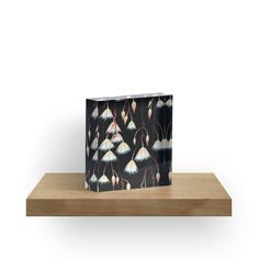 Elaeocarpus, acrylic art by ptitsa-tsatsa