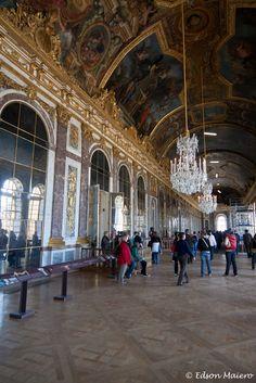 Palácio de Versailles - Sala dos espelhos