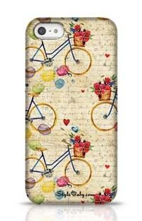 Hand Drawn Watercolor Pattern Apple iPhone 5 Phone Case