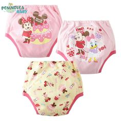 3Pcs/lot Baby Waterproof Underpants Girls Boys Cartoon Potty Training Pants Babies Reusable Kids Diapers Fraldas Diaper Cover #>=#>=#>=#>=#> Click on the pin to check out discount price, color, size, shipping, etc. Save and like it!