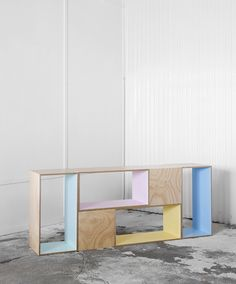 The Design Files: Work Shop Plywood Furniture, Diy Furniture, Furniture Design, Timber Furniture, Diy Regal, Shop Storage, Storage Boxes, The Design Files, Deco Design