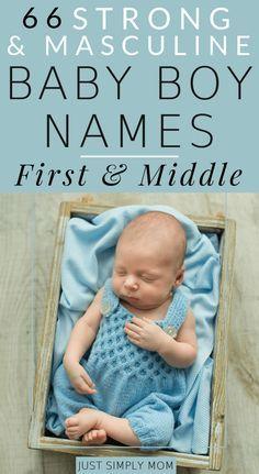 Baby Boy Middle Names, Cute Boy Names, Unique Baby Boy Names, Baby Girl Names, Best Boy Names, Earthy Boy Names, Boy Middle Names Unique, Southern Baby Boy Names, Country Boy Names