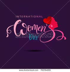 Find International Happy Womens Day 8 March stock images in HD and millions of other royalty-free stock photos, illustrations and vectors in the Shutterstock collection. Thousands of new, high-quality pictures added every day. Women's Day 8 March, 8th Of March, Women's Day Cards, Ladies Day, Royalty Free Stock Photos, Neon Signs, Pearls, Happy, Beads