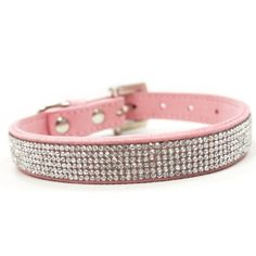 VIP Bling Dog Collar :: Pink