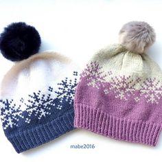 Ravelry: Vinterstormlua/Winterstorm hat pattern by MaBe Beanie Knitting Patterns Free, Fair Isle Knitting Patterns, Knitting Charts, Easy Knitting, Loom Knitting, Knit Patterns, Knitting Machine, Stitch Patterns, Knit Crochet