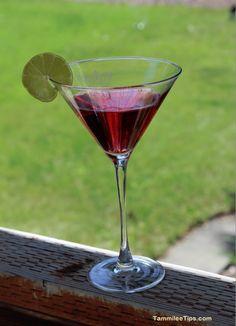 Smirnoff Sorbet Raspberry Pomegranate Cosmopolitan Cocktail