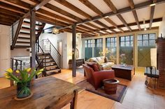 This Carroll Gardens carriage house at 36 Strong Place is on the rental market asking $12,500 a month.