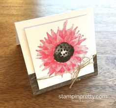 Painted Harvest Stamp Set Paisley Framelits Dies Card Set . Read more https://stampinpretty.com/2017/08/painted-harvest-melon-mambo-3-x-3-minis.html