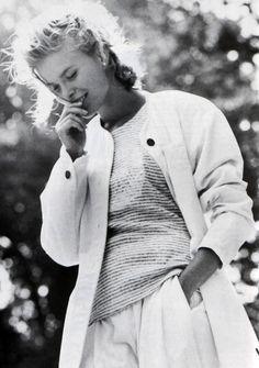 Christian de Castelnau, American Vogue, March 1989. Photograph by Dominick.