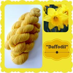 Daffodil - Dutch Flowers | Red Riding Hood Yarns Yellow And Brown, Orange Yellow, On October 3rd, Red Riding Hood, Daffodils, Yarns, Holland, Dutch, Pineapple